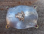 Vintage Bull Riding Buckle