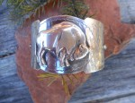 (orders only) Susan Adams – Bison Cuff Bracelet
