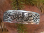 (sold) Ernie Marsh – Sterling Silver Cuff Bracelet