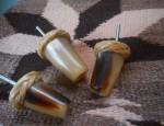 Three Horn Drawer Pulls