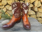 Pictorial Steer Boots