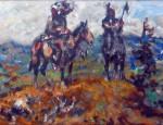 Julius Seyler – Blackfeet Horsemen