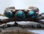 Sandcast Navajo Bracelet