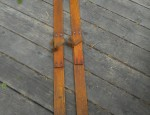 Vintage Child's Handmade Skis