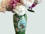 Victorian Elk Vase