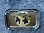 Yellowstone Park Glass Paperweight